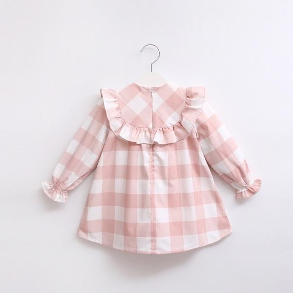 Image de vestido bb cuadros rosas