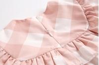 Imagen de vestido bb cuadros rosas