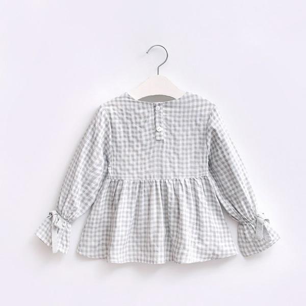 Imagen de blusa de vichy gris