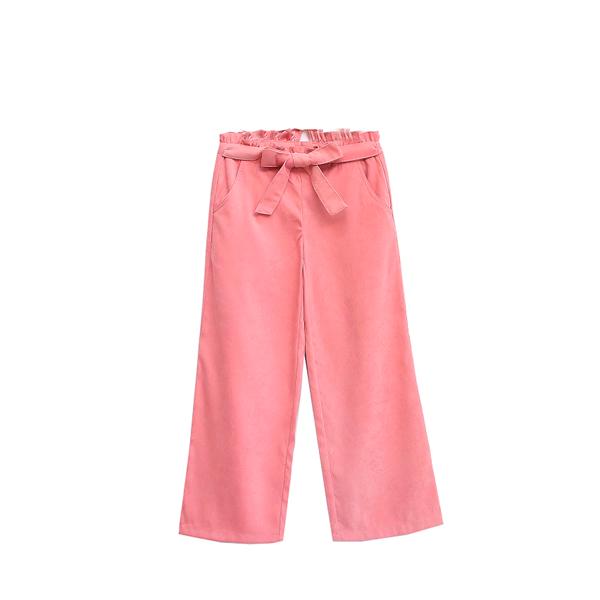 Imagen de pantalon rosa palazzo