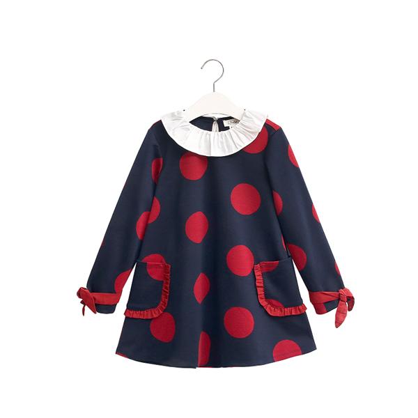 Picture of vestido de punto maxilunares rojos