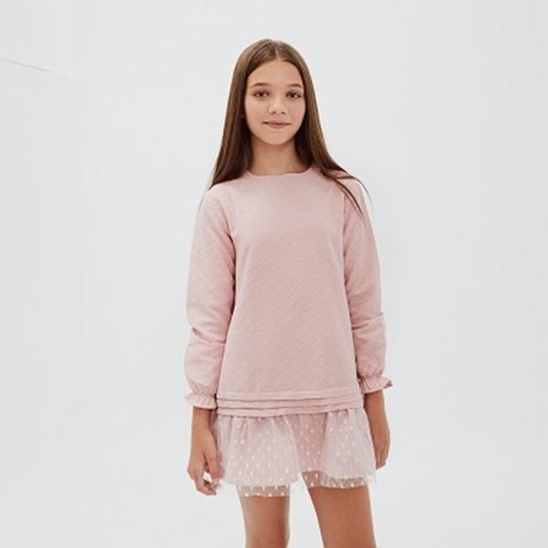 Image de Vestido purpurina Blancanieves