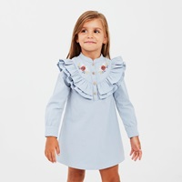 Picture of Vestido junior boho azul