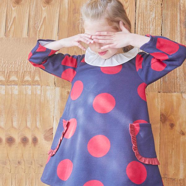 Image de vestido de punto maxilunares rojos