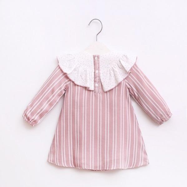Image de Vestido bb rayas rosas