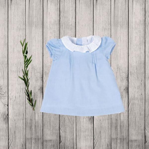 Imagen de Vestido azul bebe